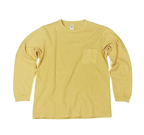 Long Sleeve Pocket Tee - York Yellow