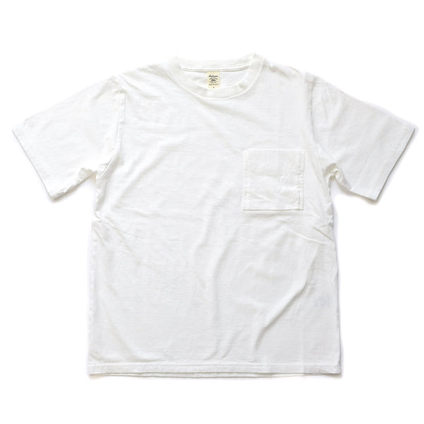 SS Pocket Tee - White