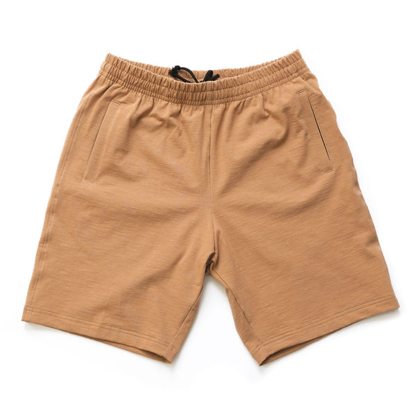 Stretch Shorts - Rust