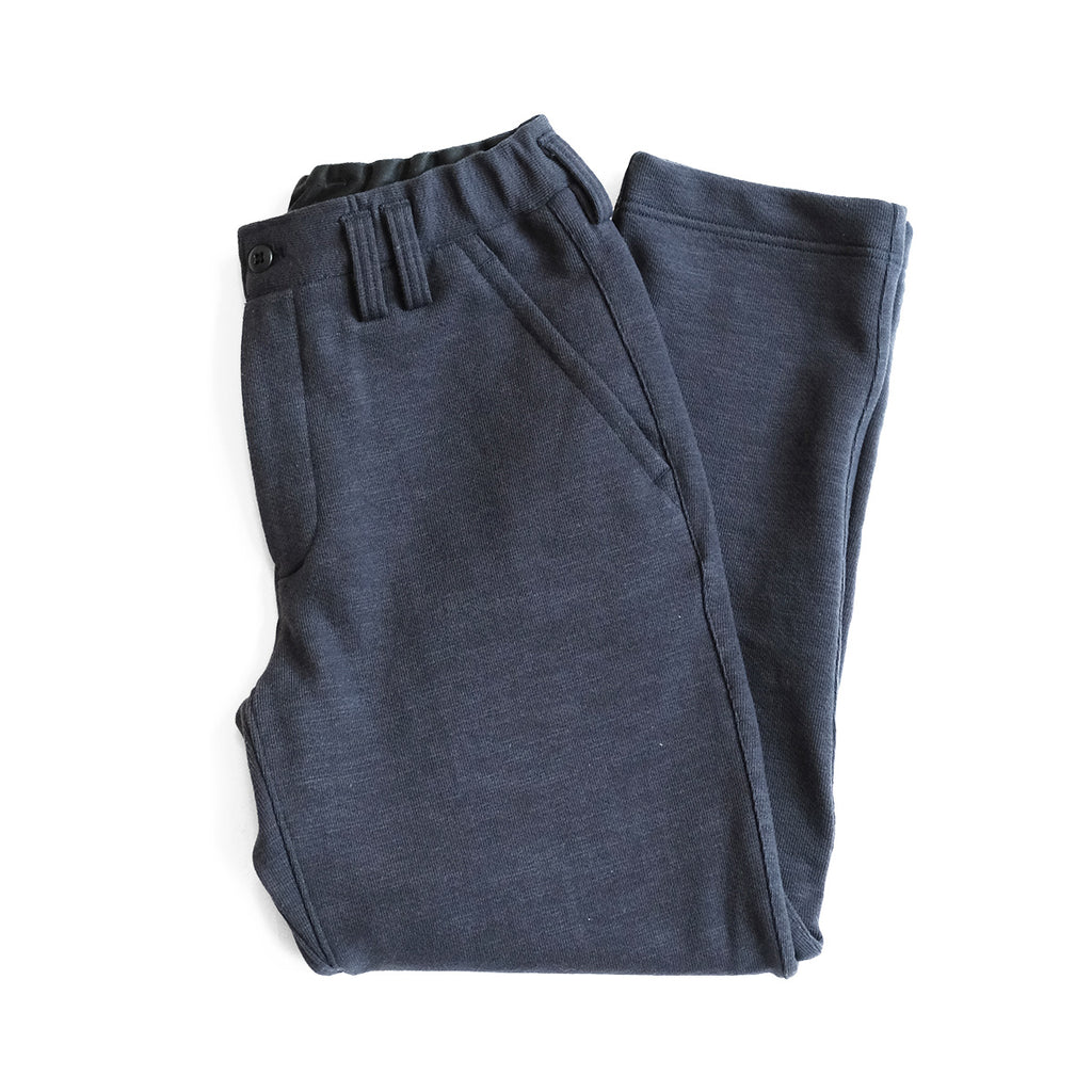 Knit Trousers - Navy