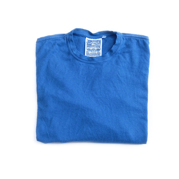 Baja Hemp Long Sleeve Tee - Cobalt Blue