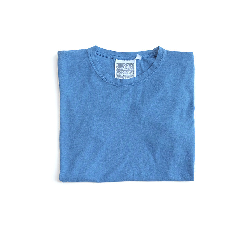 Jung Hemp Tee - Lake Blue
