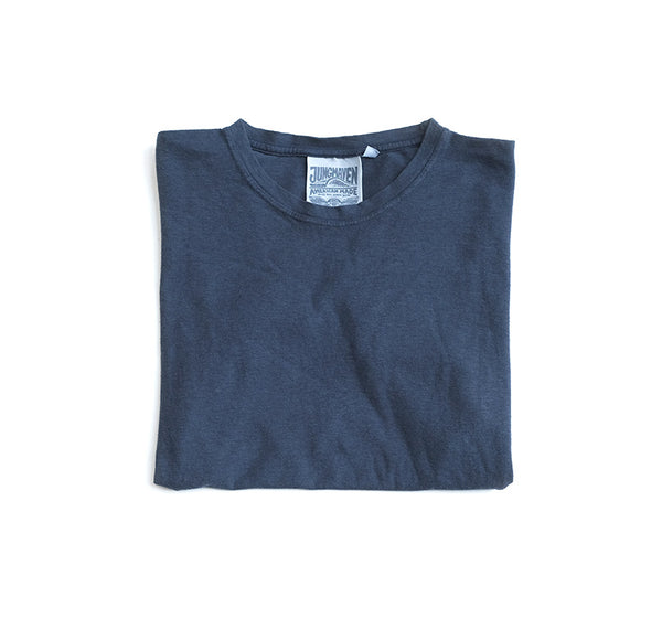 Jung Hemp Tee - Navy