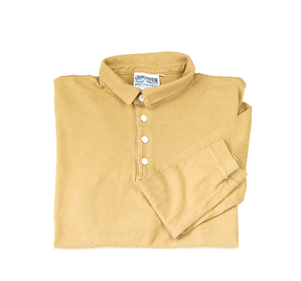 Polo Long Sleeve - Marigold