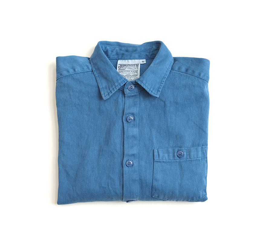 Topanga Shirt - Lake Blue