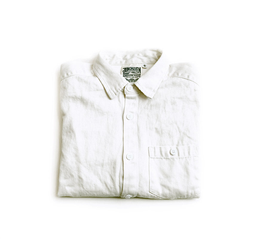 Topanga Shirt - Washed White