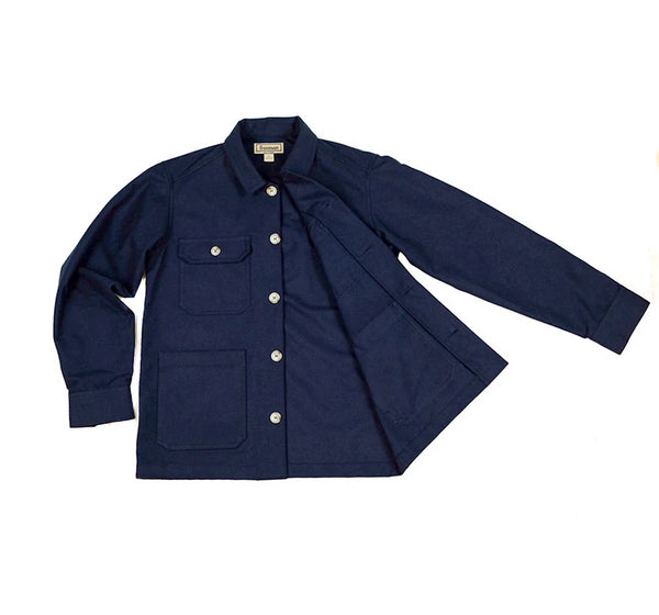 Studio Coat - Navy