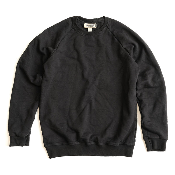Puget Crew - Black French Terry