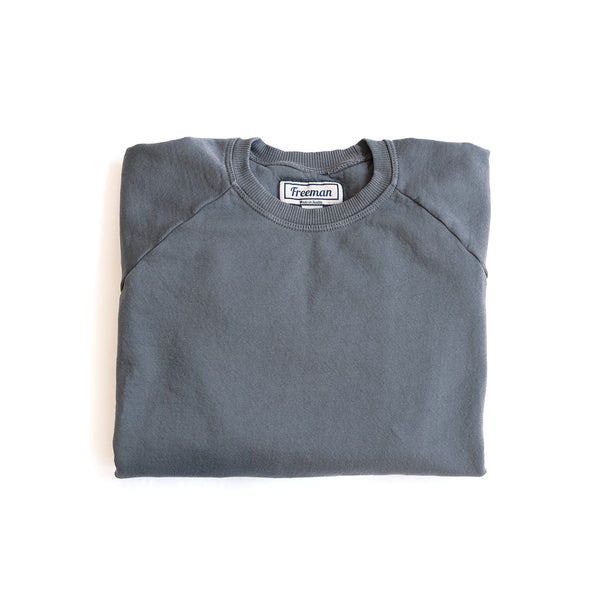 Pigment Dyed Puget Crew - Cascade Grey