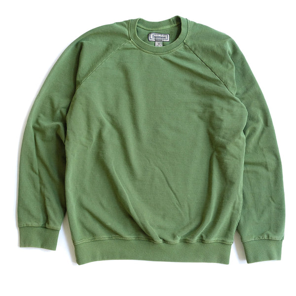 Pigment Dyed Puget Crew - Olive