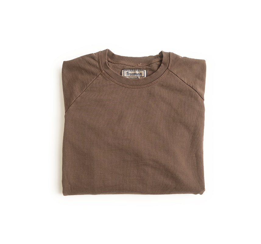 Pigment Dyed Puget Crew - Earth