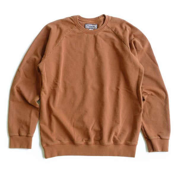 Pigment Dyed Puget Crew - Rust