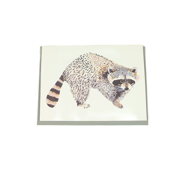 Raccoon - Any Occasion Card