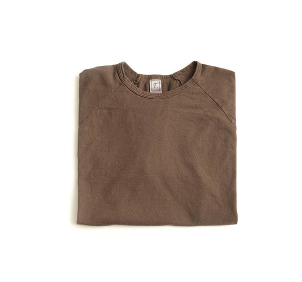 Pigment Dyed Raglan Tee - Earth