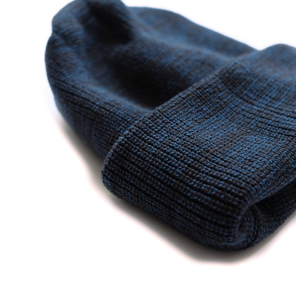 Bulky Watch Cap - Charcoal/Blue