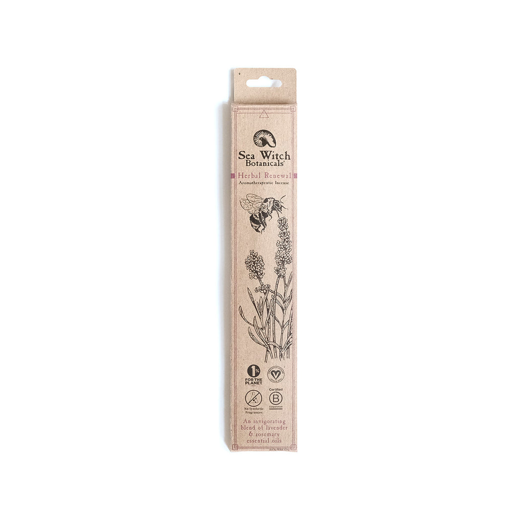 Sea Witch Botanicals Incense Pack - Herbal Renewal