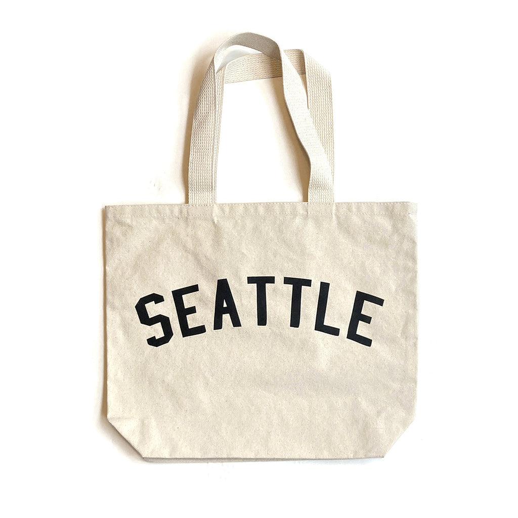 Seattle Pocket Tote - Black
