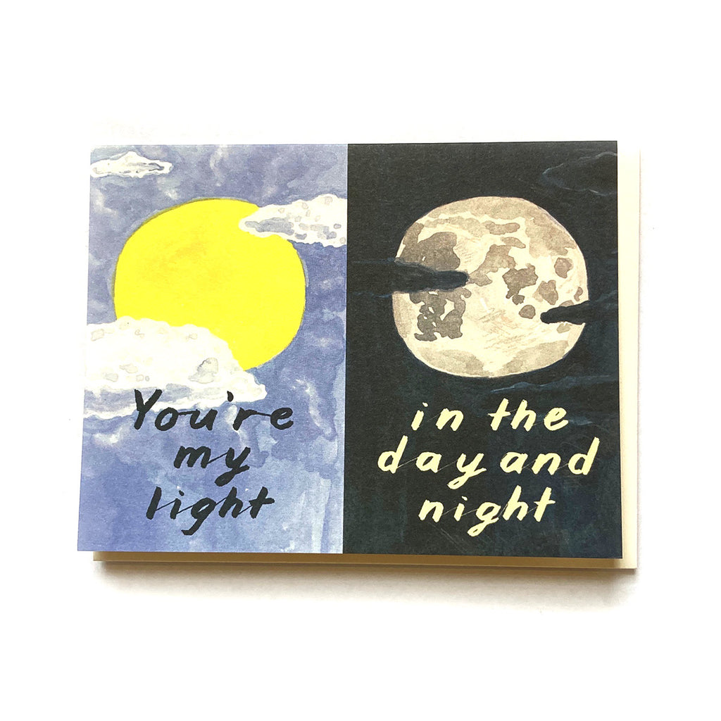 You're My Light - Love and Friendship Card