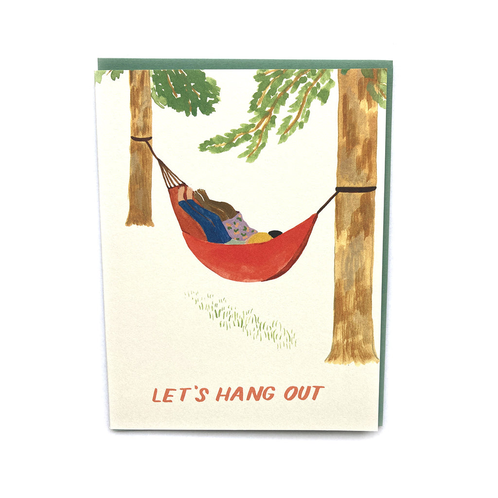 Hammock Hang - Love and Friendship Card