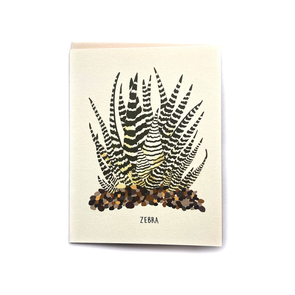 Zebra Plant - Any Occasion Card