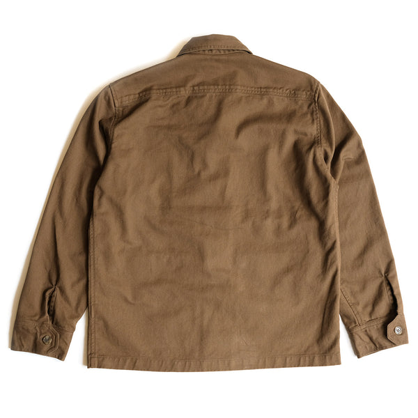 Twill Studio Coat - Oak