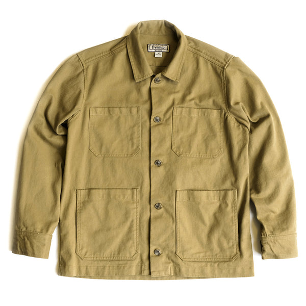 Twill Studio Coat - Wicker