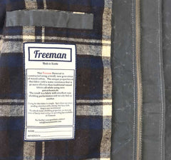 The Freeman – Charcoal - Waxed Cotton