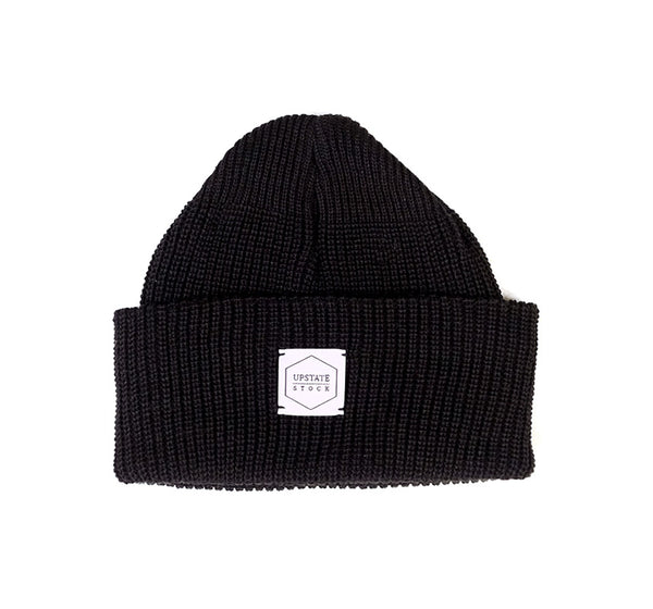 Recycled Cotton Watchcap - Black