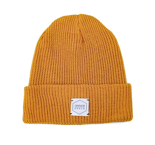 Recycled Cotton Watchcap - Ochre
