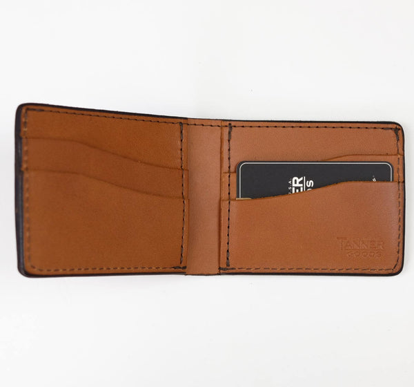 Utility Bifold Wallet - Saddle Tan