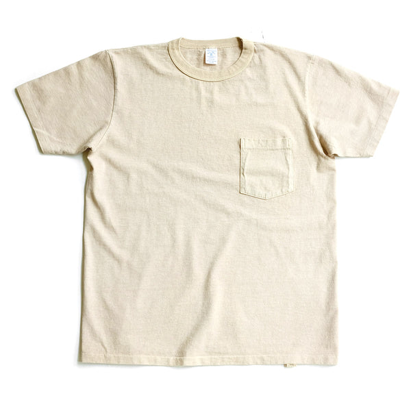Pigment Dyed Pocket Tee - Latte