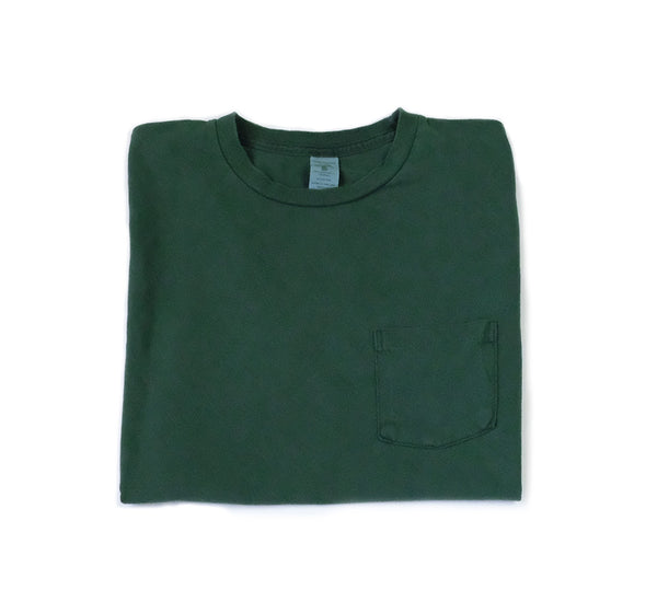 Pigment Dyed Pocket Tee - Green