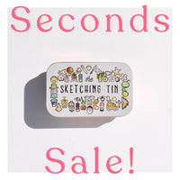 SECONDS SALE! Empty Sketching Tin - Copper