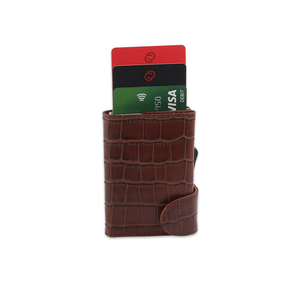 RFID CROC LEATHER WALLET