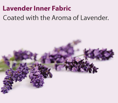 Lavender coated inner fabric