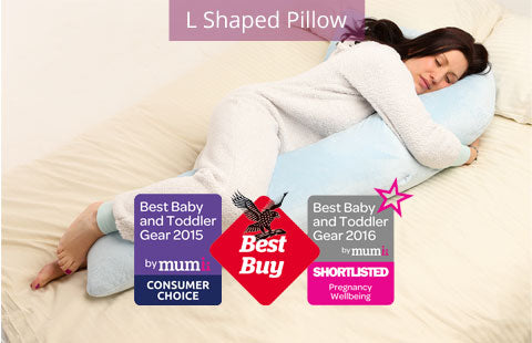 L Shaped Pillow