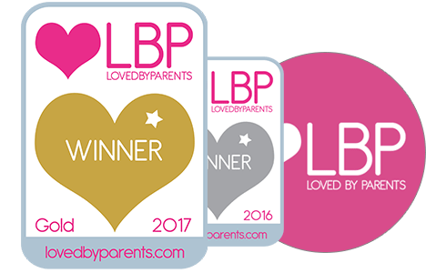 Loved By Parents Gold Award for Nursing Pillow