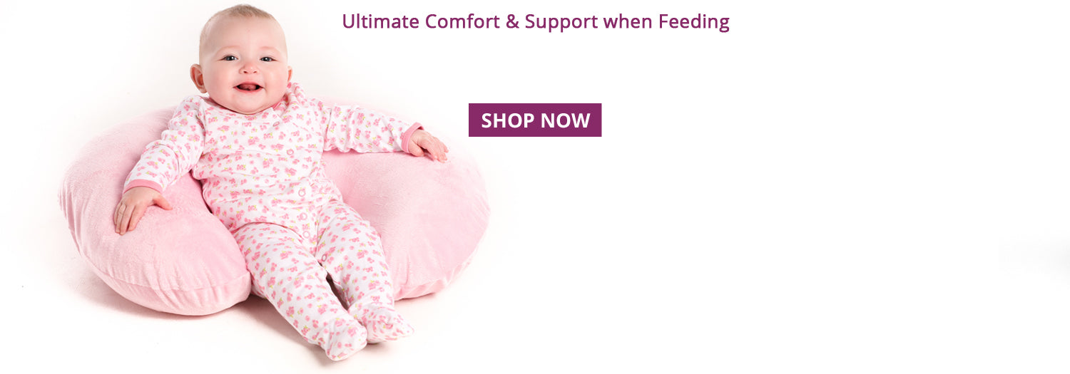 Nursing pillow for better feeding times