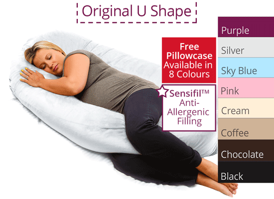 Original u shaped pregnancy pillow