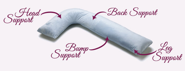 body pillow supports you during pregnancy