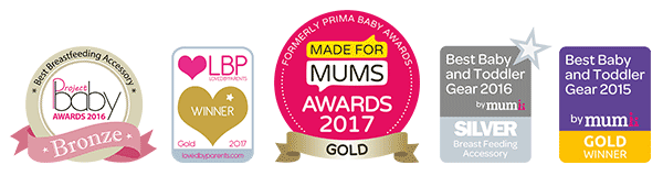 Winner of the Made for Mums Gold Award