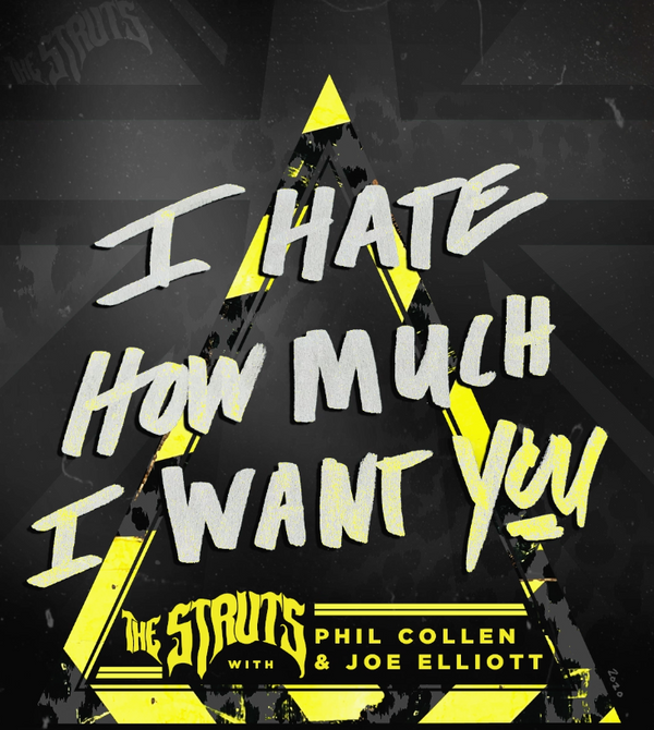 """I Hate How Much I Want You"" - New Song From The Struts Featuring Joe & Phil 🤘"