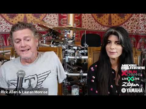Rick Allen - New Interview With Modern Drummer