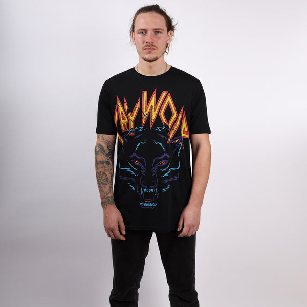Male Crywolf T-Shirt Front