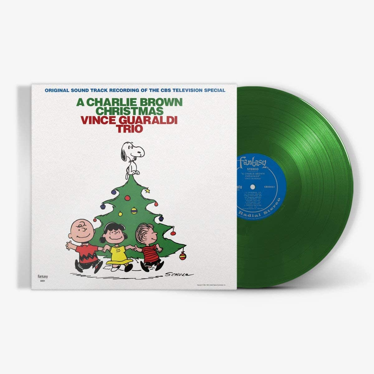 VINCE GUARALDI TRIO — A CHARLIE BROWN CHRISTMAS (VINILO VERDE)