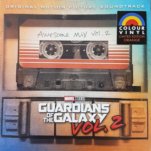 VARIOS — GUARDIANS OF THE GALAXY 2: AWESOME MIX VOL 2 OST (VINILO NARANJA)