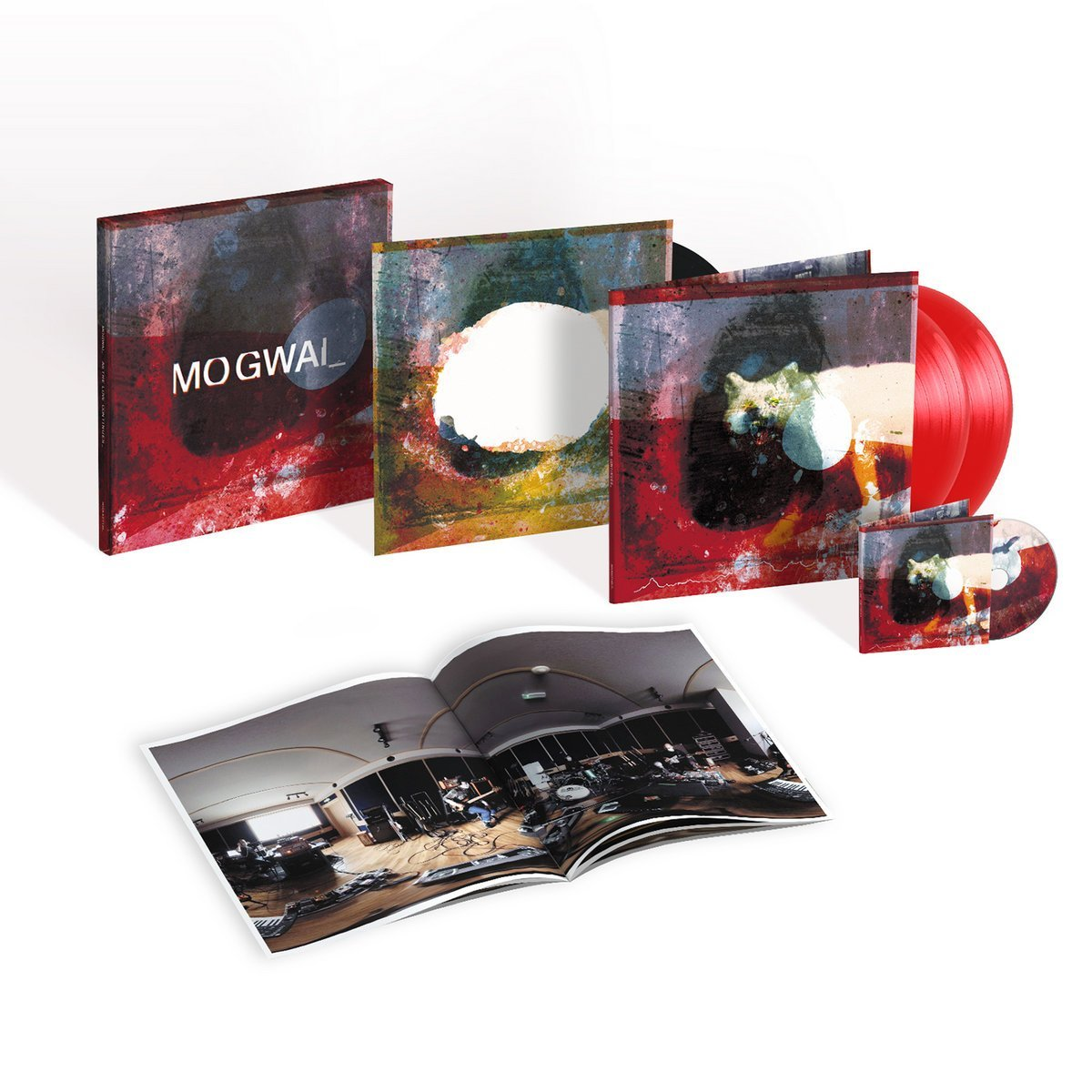 MOGWAI — AS THE LOVE CONTINUES (BOX SET)