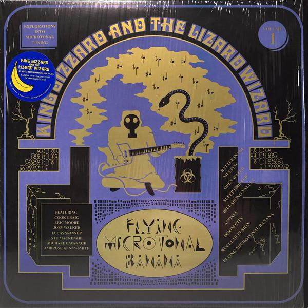 KING GIZZARD AND THE LIZARD WIZARD — FLYING MICROTONAL BANANA (VINILO AMARILLO NEON)
