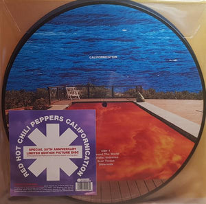RED HOT CHILI PEPPERS — CALIFORNICATION (20 ANIV.) (PICTURE DISC)
