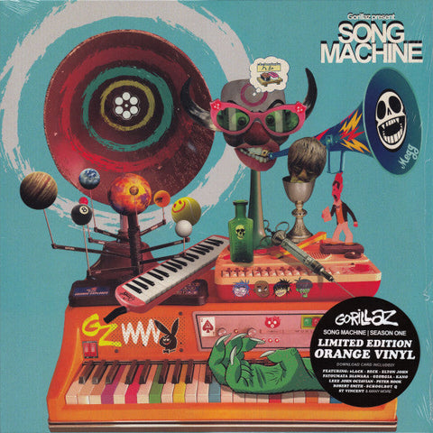 GORILLAZ — SONG MACHINE (VINILO NARANJA)